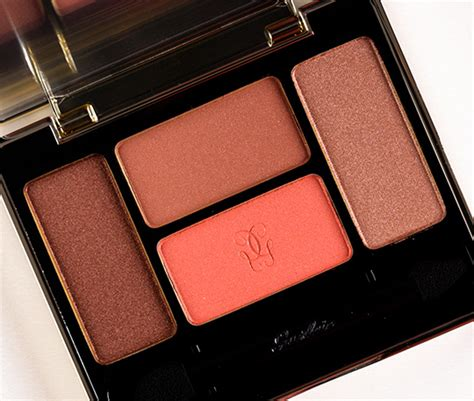 Inez Pallete guerlain les fauves l ecrin 4 couleurs eyeshadow palette review photos swatches