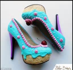 kuchen schuhe jimmy choux designer creates amazing shoes that look like