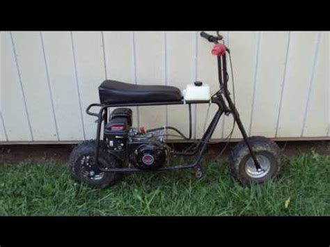doodlebug mini bike modifications doodlebug mini bike mods finished