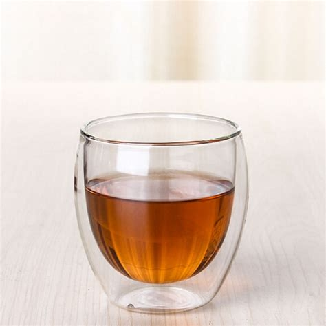 Clear Shoo 70ml glass mug promotion shop for promotional