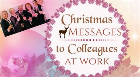 christmas messages  colleagues  work holiday message wishes