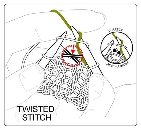 right twist stitch knitting techknitting the continental knit stitch