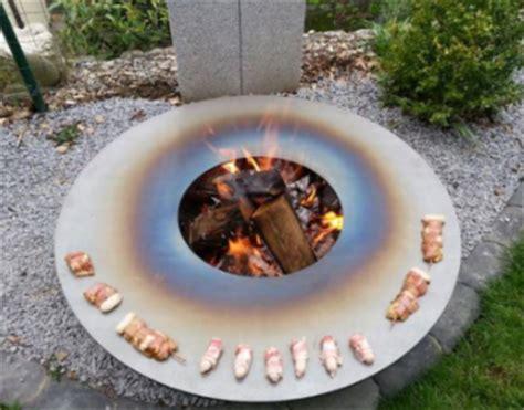 feuerschale tief grill feuerschale ausstellungsmodell flammorama