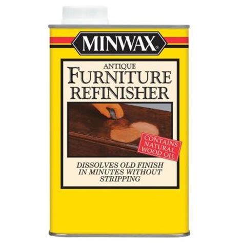 minwax 1 qt antique furniture refinisher 67300 the home