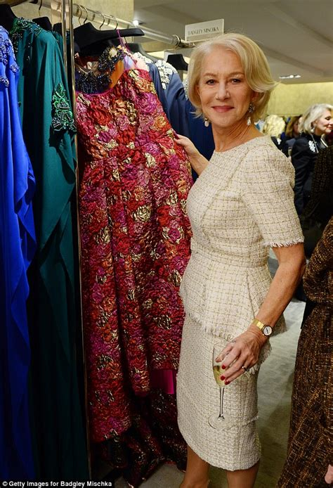 70 yr old fashions for helen mirren celebrates designers book badgley mischka