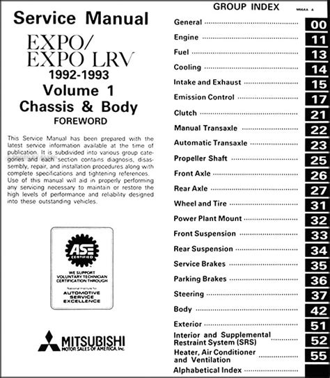 small engine maintenance and repair 1993 mitsubishi expo spare parts catalogs 1993 mitsubishi expo engine service manual service manual pdf 1995 mitsubishi expo engine