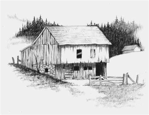 scheune zeichnung barn by sirbone on deviantart
