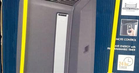 delonghi pinguino an125hpekc portable air conditioner