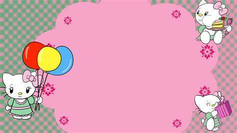 hello kitty birthday card image by spongefox on deviantart