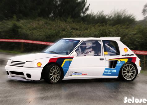 peugeot 205 rally peugeot 205 rally by sejose on deviantart