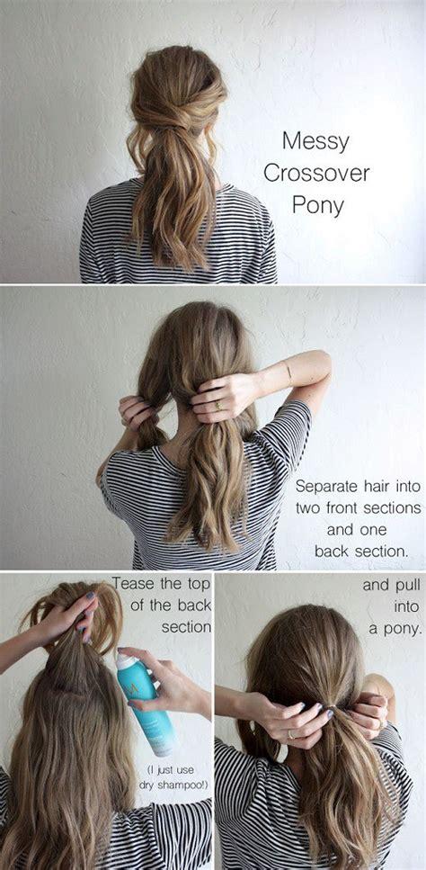 diy hairstyles ponytail 17 hair tutorials you can totally diy
