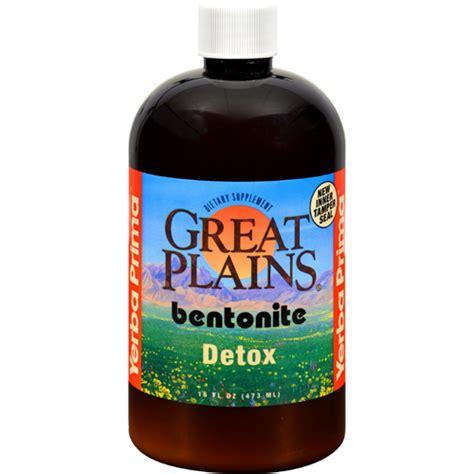 Yerba Prima Bentonite Detox Pint 16 Oz by Bettymills Great Plains Bentonite Detox 16 Fl Oz