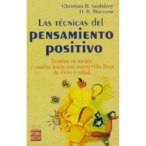 libreria psicologia firenze las t 233 cnicas pensamiento positivo libro libros de