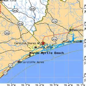 carolina shore map carolina shores carolina nc population data