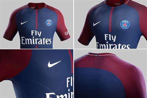 Jersey Persis Home 2017 Lokal detail jersey home psg 2017 18 bola net