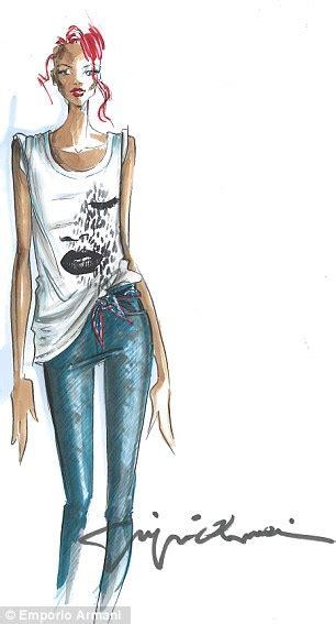 Harga X Rihanna blogpedia to you koleksi terbaru paduan emporio armani