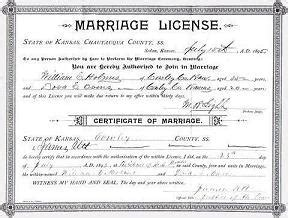 Philadelphia County Marriage Records Duplicate Wedding License Philadelphia