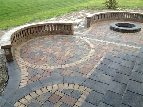 patio pavers landscaping designs arbor trees