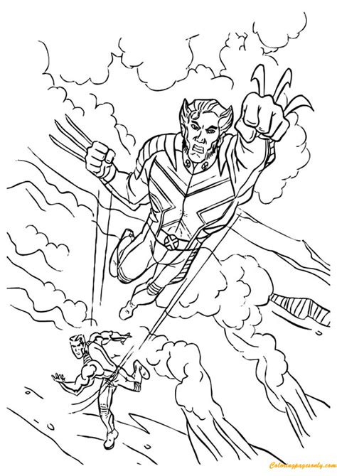 avengers wolverine coloring pages avengers wolverine coloring page free coloring pages online