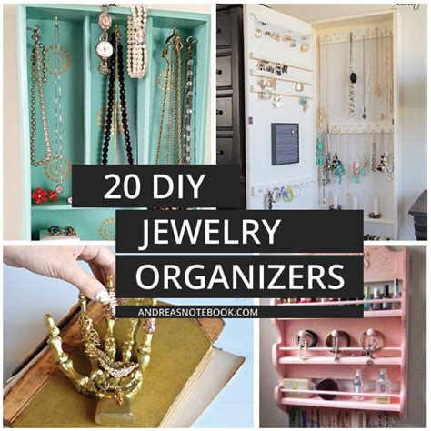 make your own jewelry organizer 20 diy jewelry organizers that are to make andrea s