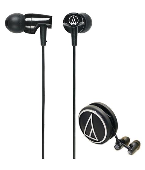 Audio Technica Ath Clr100 Pl audio technica ath clr100 bk in ear wired earphones without mic black available at snapdeal for