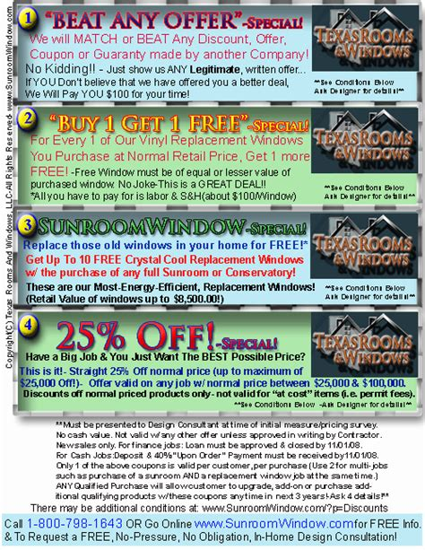 patio room discounts up to 5000 sunroom conservatory