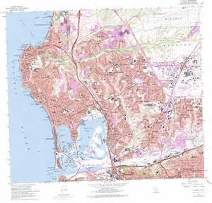 la jolla topographic map ca usgs topo 32117g2