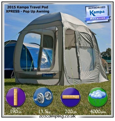 Pop Up Awnings Uk by New 2014 Ka Pod Xpress Pop Up Free Standing Drive Away