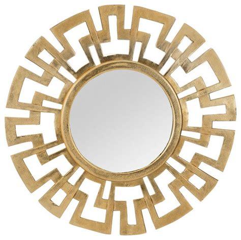 greek key home decor cast greek key mirror contemporary wall mirrors by