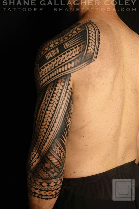 shane tattoos polynesian sleeve chest tatau tattoo 100 ideas to try about cool tattoos tribal forearm