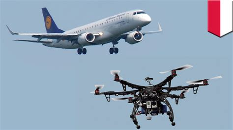 drone plane with plane drone near miss lufthansa airliner with 108 aboard