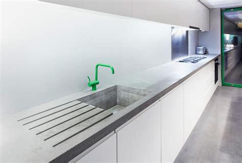 Unique Kitchen Furniture polished concrete worktops haus concrete surfaces