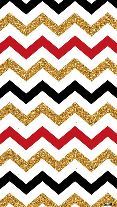 wallpaper glitter chevron color inspiration red gold black zig zag home sweet