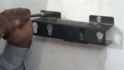screw up tv mounting of vu led tv on wall hindi 720p hd youtube