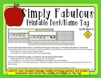 printable desk tags with number line printable desk plate name tag with reading prompts 120