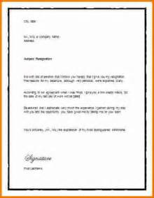 Sle Letter Of Resignation 2 Weeks Notice by 4 Two Weeks Notice Templates Expense Report