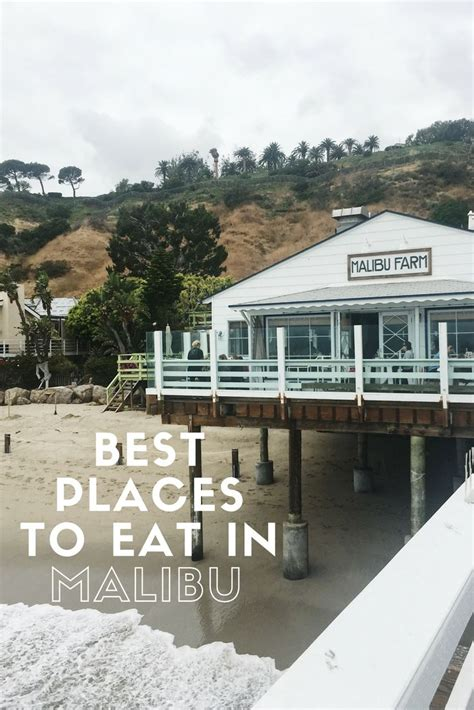 best restaurants malibu best restaurants places to eat in malibu california
