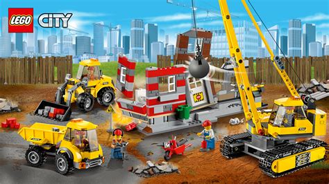 Demolition Site Lego 60076 City 60076 demolition site wallpapers lego 174 city lego us