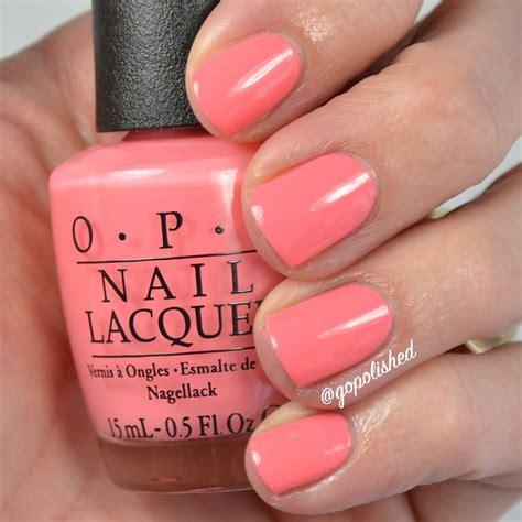 best opi pedicure color for spring go polished opi new orlean comparisons