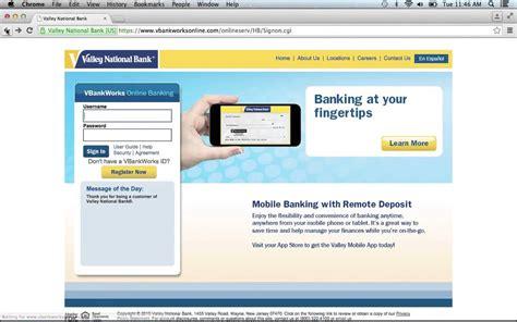 www dab bank login valley national bank banking login