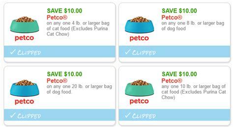 petco food coupons new high value petco coupons 10 cat food
