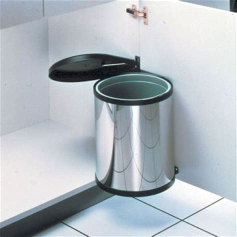 trash can attached to cabinet door top 10 best built in waste bins hideaway in cabinet and