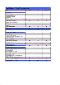 Office Business Plan Template 2012 New Year Financial Business Plan Template Free