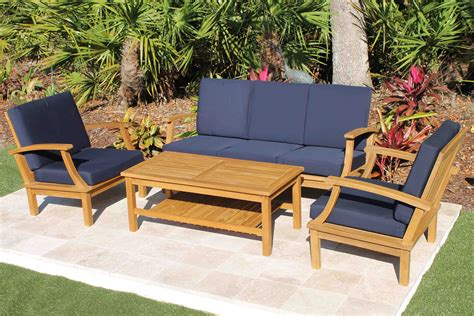 Perfect Navy Outdoor Cushions ? Bistrodre Porch and