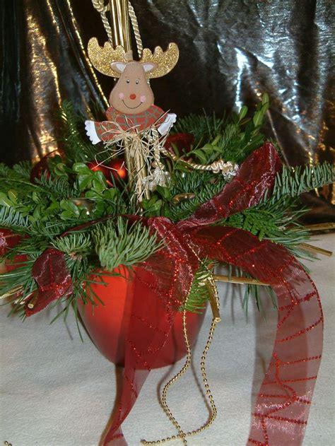bäumchen im topf rentier im topf bastelideen zu weihnachten basteln zur