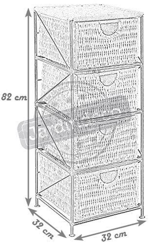Commode Métal by Commode 4 Tiroirs En M 233 Tal Et Ma 239 S