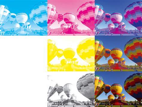 four color process andruckskala