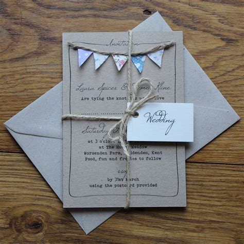 Ideas For Handmade Wedding Invitations - best 25 wedding invitations ideas on