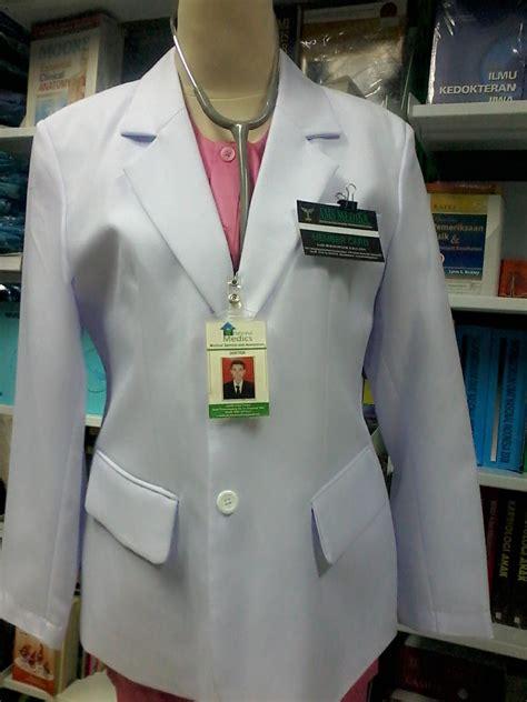 Baju Gea Top Sas ams medika jas dokter lengan panjang serat cewek s