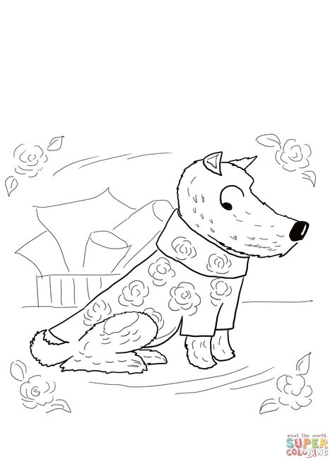 coloring page of harry the dirty dog harry the dirty dog coloring pages az coloring pages